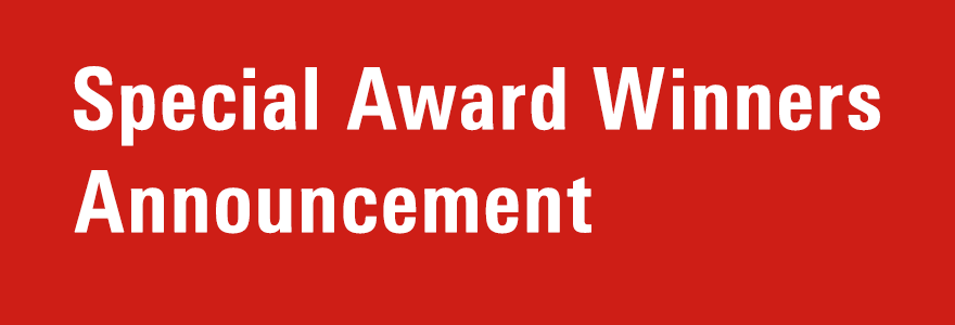 Special Award Winners Announcement