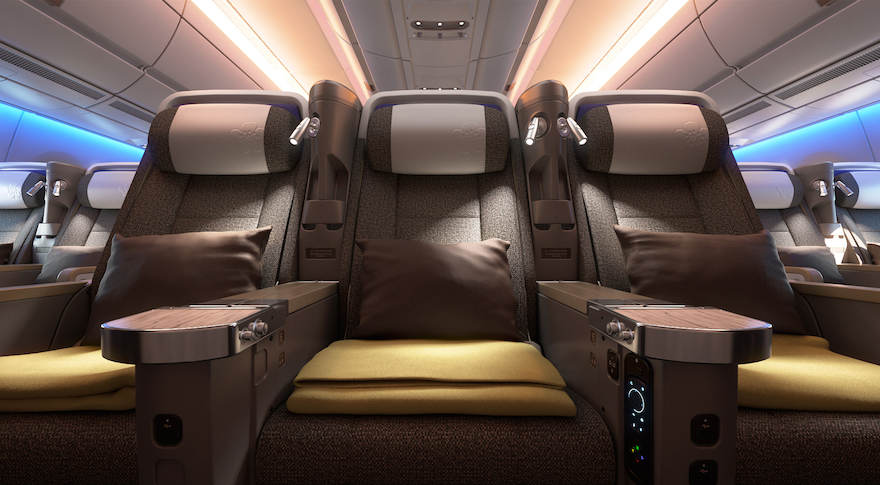 Aircraft Seat Premium Economy Seat Good Design Award