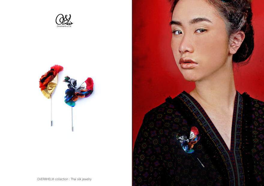 Thai silk jewelry [OVERWHELM]  歷届獲獎產品  Good Design Award